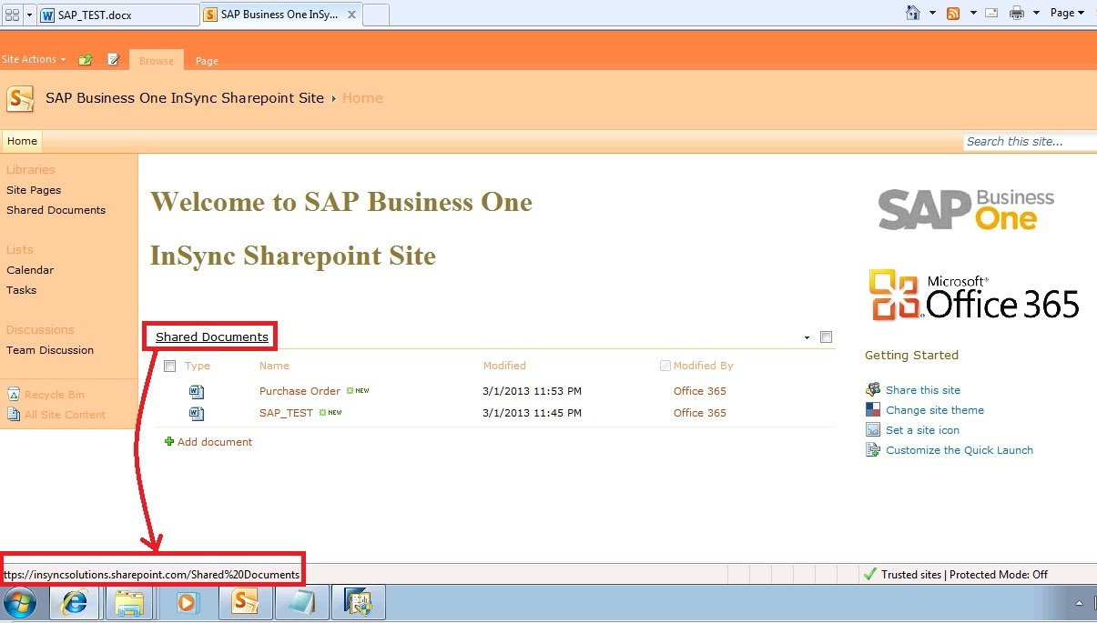 File path ref from Sharepoint