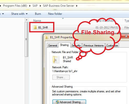Old file sharing concept