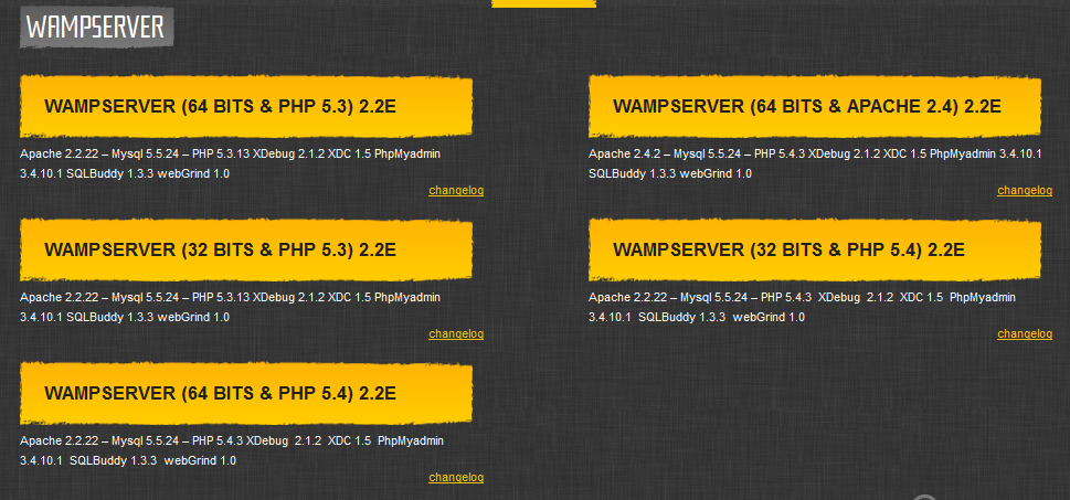 Download Wampserver and install Magento on WAMP