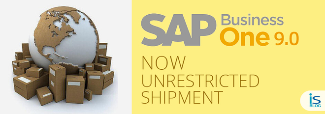 SAP Business One 9.0 in unrestricted shipment