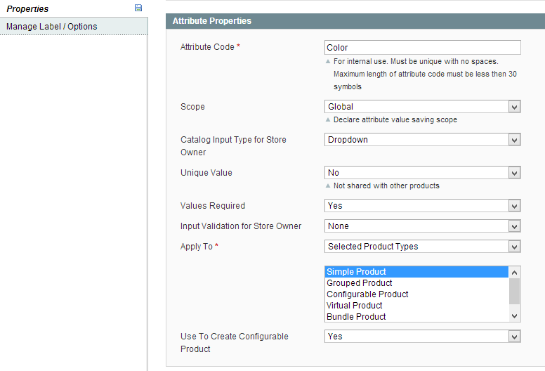 How to Create Custom Options & Configurable Products in Magento