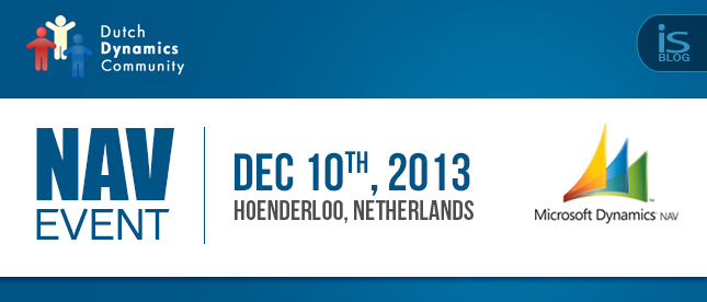 Register for Dutch Dynamics Community NAV Event December 10' 2013