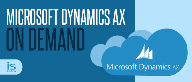 Microsoft Dynamics AX On Demand – Possibly in early 2014