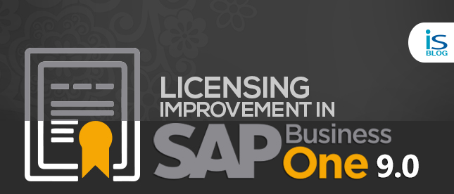 Licensing Improvement in SAP Business One 9.0 -banner