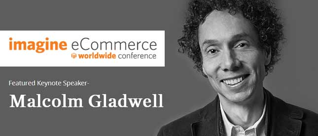 Malcolm Gladwell as a keynote speaker at Magento Imagine 2014